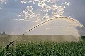 A contribuição do campo para a crise hídrica