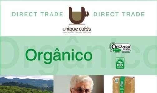 Café orgânico ganha prêmio