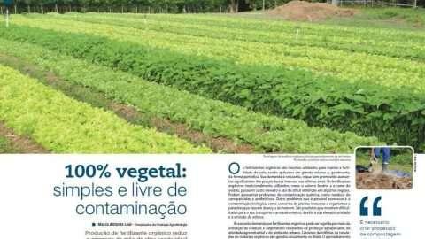 Produção de fertilizante orgânico reduz o emprego de mão de obra sendo ideal para pequenos agricultores. Foto: Divulgação, A Lavoura,