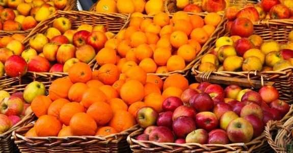 Respiração de frutas e hortaliças