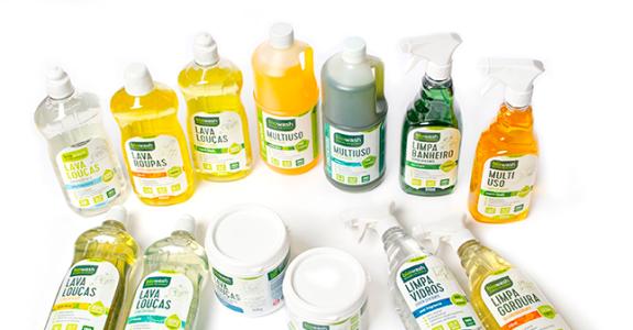 Embalagens de produtos de limpeza naturais faturam o ouro no Prêmio Abre 2017