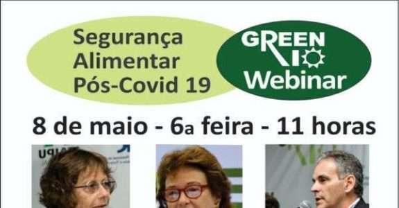 Webinar: Segurança Alimentar Pós-Covid 19