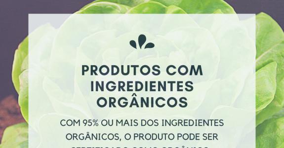 Como reconhecer se um produto é orgânico.