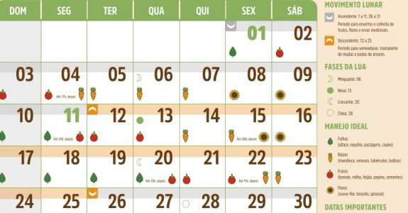 Calendário da Agroecologia 2021 – ITAIPU/CAPA