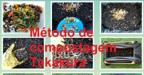 Método de compostagem Takakura