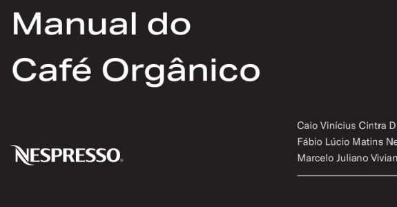 Manual do Café Orgânico – DIBD/ESALQ/USP