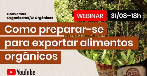 Como preparar-se para exportar alimentos orgânicos