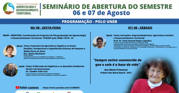 Seminário destaca o mercado de alimentos orgânicos no Brasil